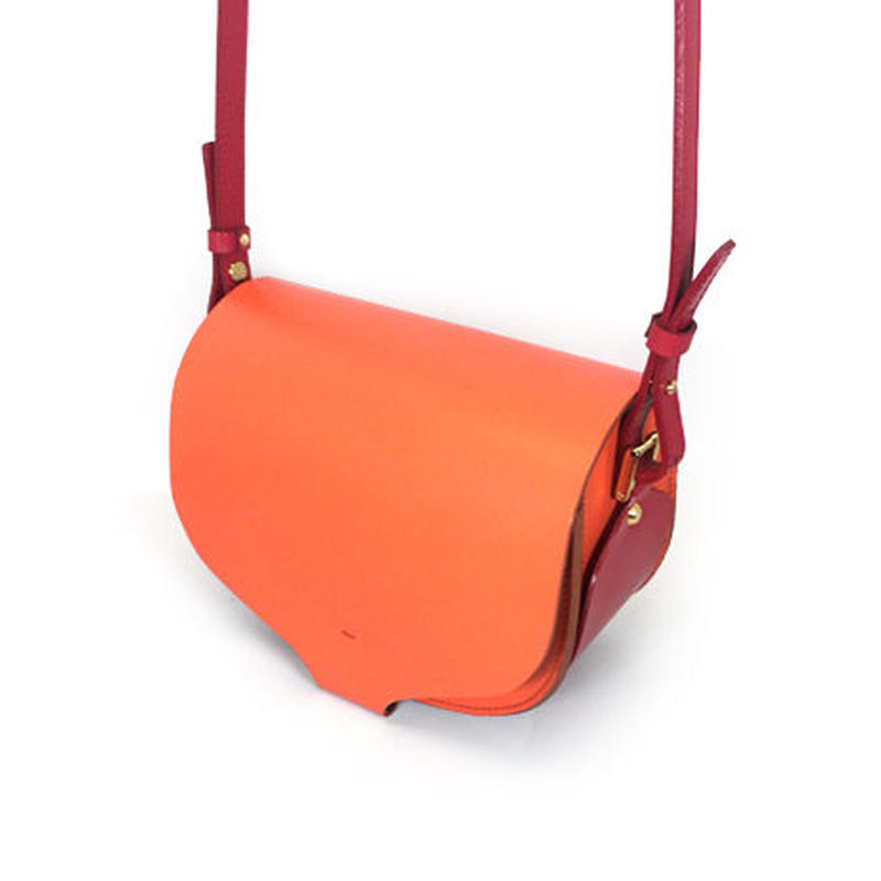 CHASSE BAG / ORANGE & RED