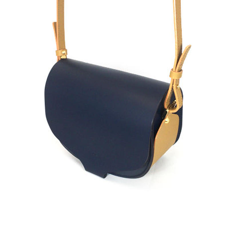 CHASSE BAG /NAVY & YELLOW