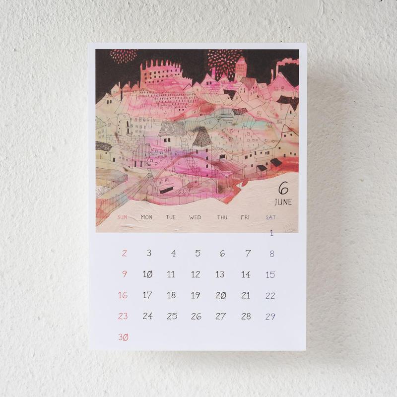 enna konoma 2019年ポスターカレンダー