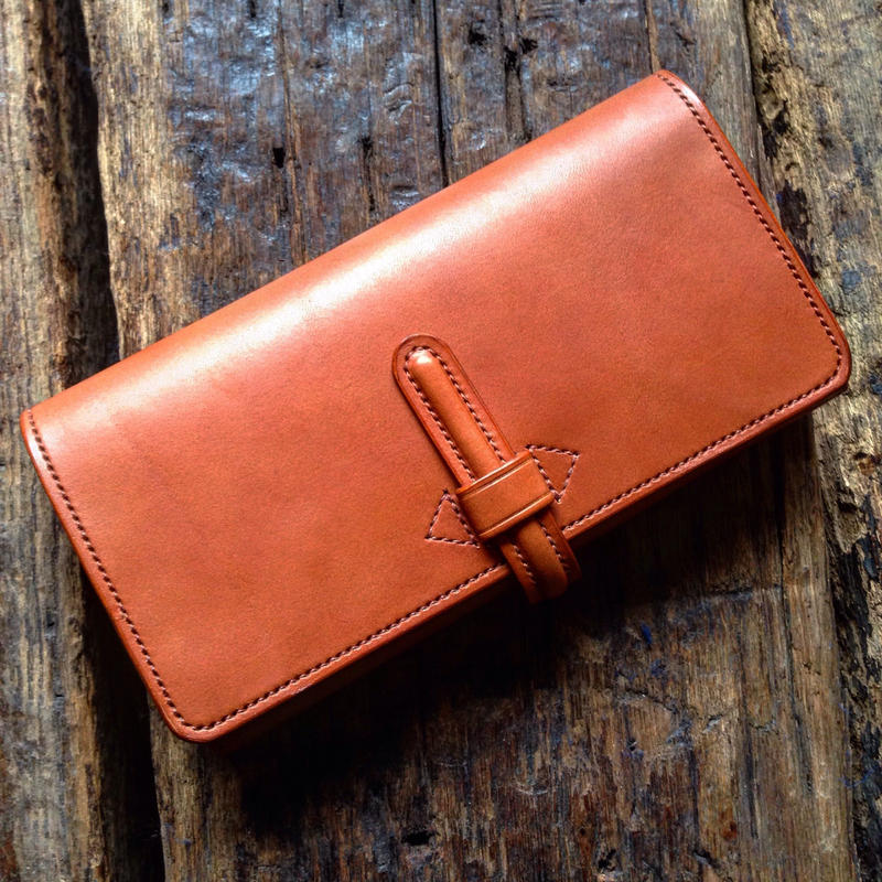 CALIFORNIA HARVEST / LONG WALLET (CAMEL)