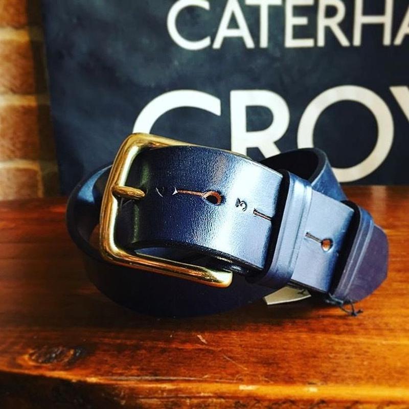 JABEZ CLIFF / Stirrup Lether belt (3.8cm)