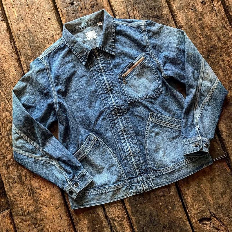 Fullcount / Denim zip Jkt