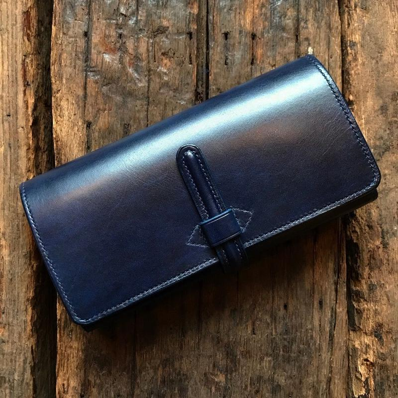 CALIFORNIA HARVEST / LONG WALLET limited edition(NAVY)