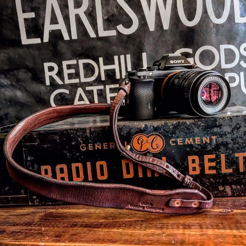 Dutch Leather Company / Camera strap