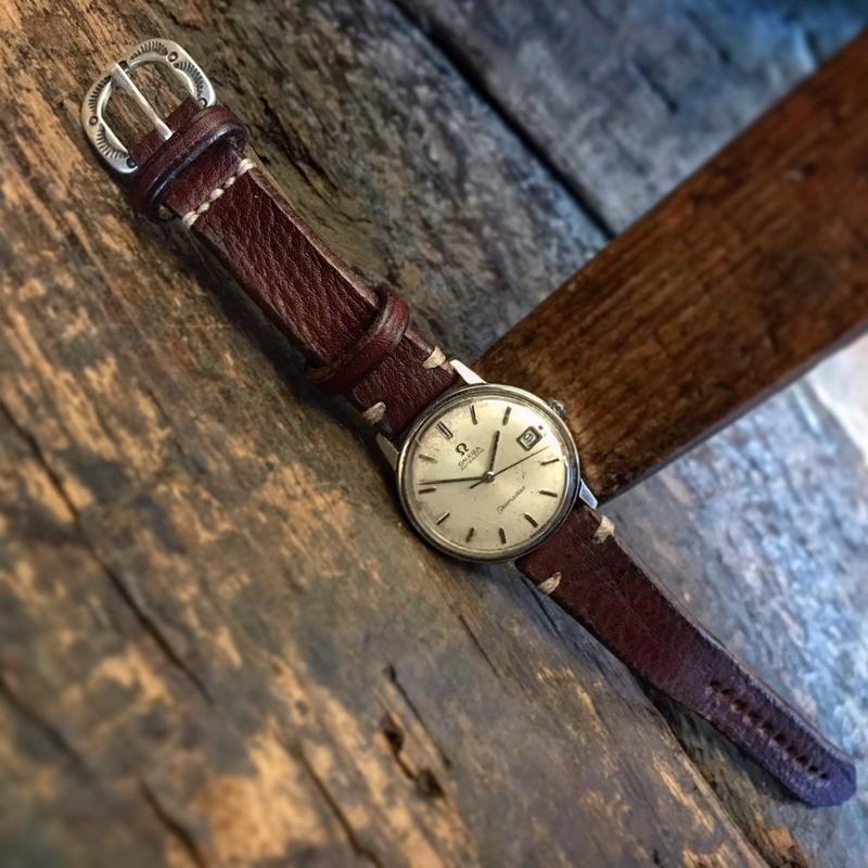 Dutch Leather Company × Japanese Silver Smith MASAYOSHI Watch belt