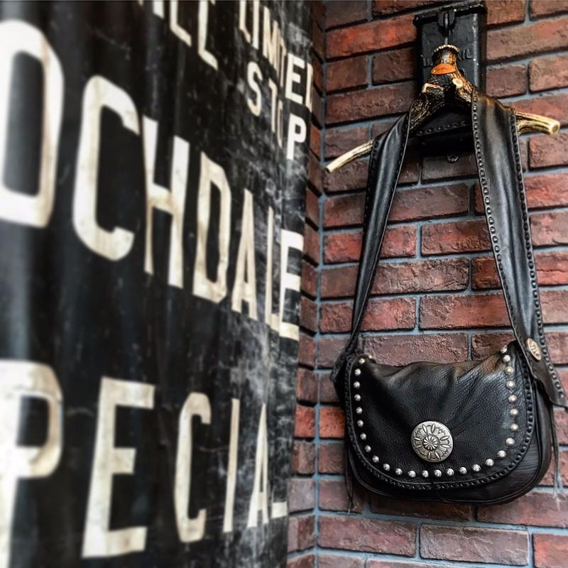 DEER HORN SMITH'S / ezo deer leather special bag
