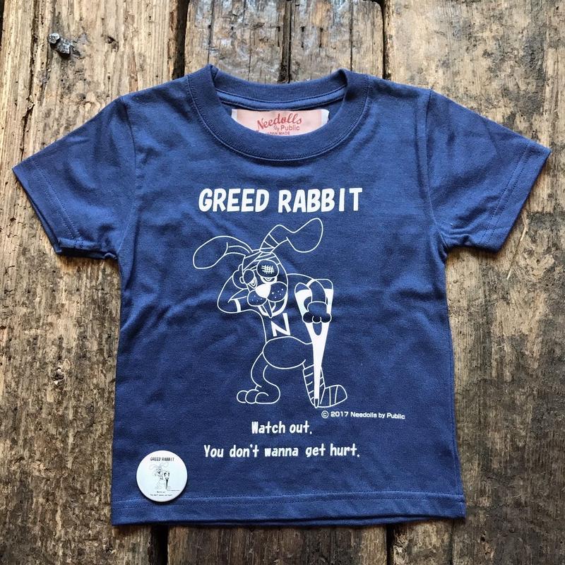 Needolls / GREED RABBIT TEE (kids)