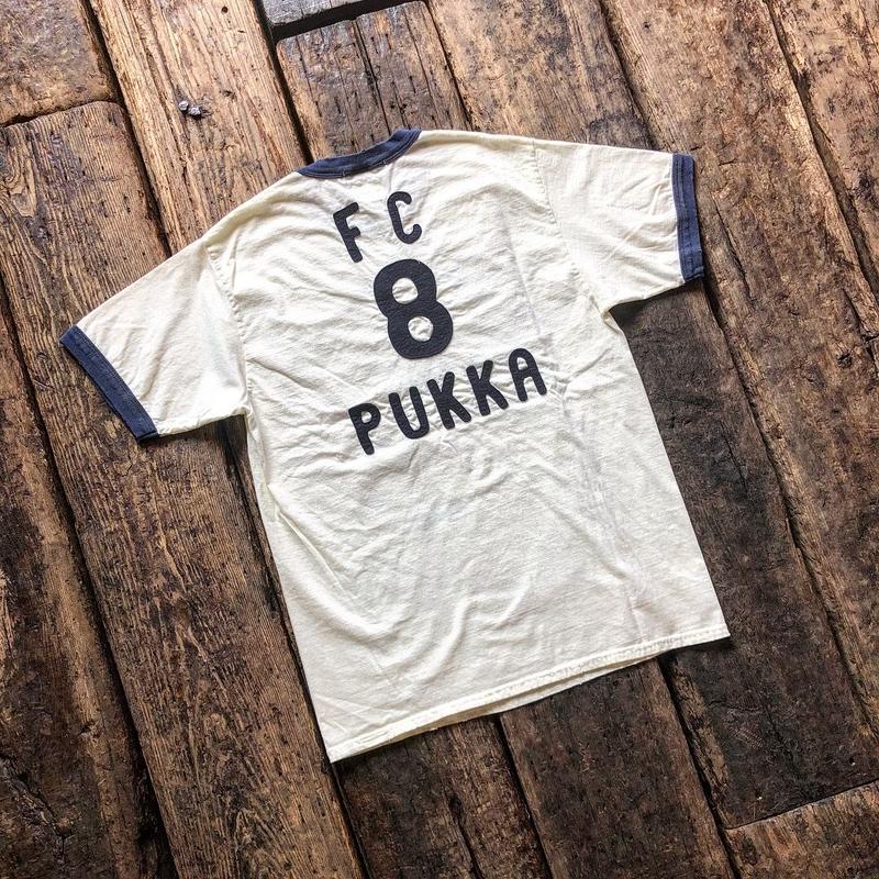 FULLCOUNT / PRINT RINGER TEE ''FC 8 PUKKA''