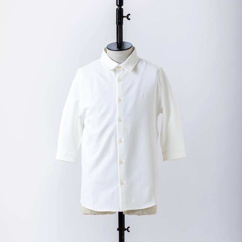 マキシマム5分袖シャツ /  CALL & RESPONSE / 191-1213-01 NVY/PNK/WHT