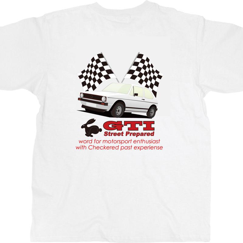 SP035W GTI white T-shirt