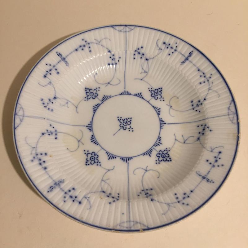 19世紀後半 ヴィルロイ・アンド ・ボッホ スープ・プレート サキソニー コペンハーゲン