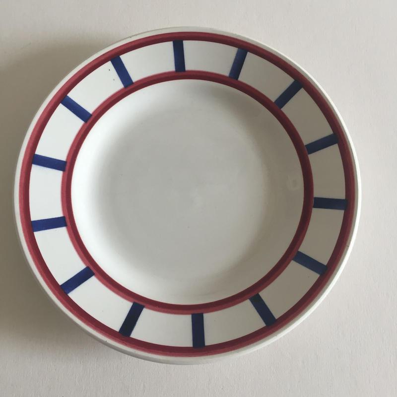 1920年代 HBCM クレイユ・エ・モントロー べアルヌ デザート・プレート 小皿