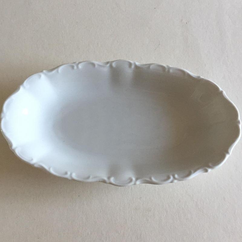 ボヘミア ゼルトマン ・ヴァイデン 旧西ドイツ製 ラヴィエ 磁器製 白