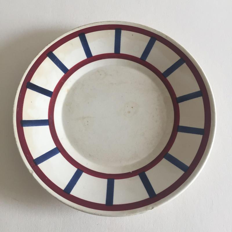 1920年代 HBCM クレイユ・エ・モントロー べアルヌ  ソーサー 小皿