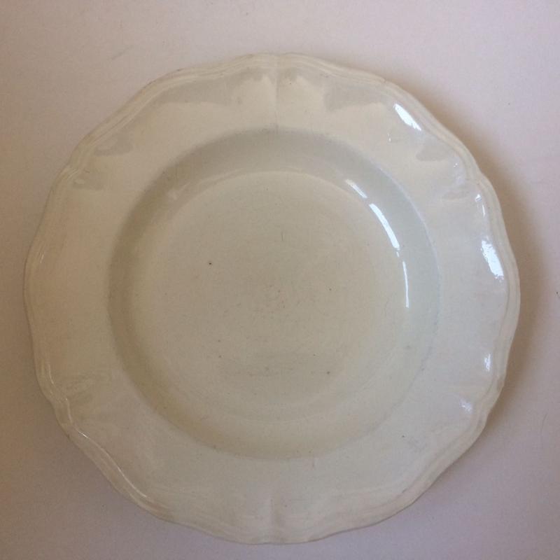 1920年代 サルグミンヌ ディゴワン アシエット スープ皿 花リム  2