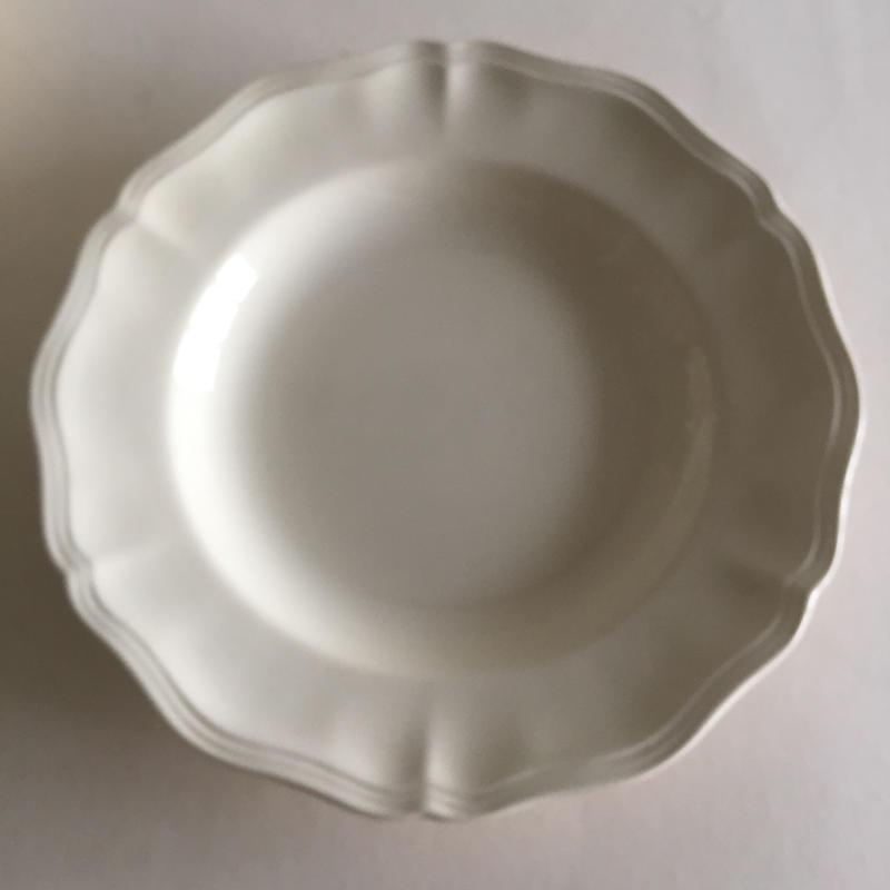 1920年代 サルグミンヌ スープ・プレート 深皿 花リム