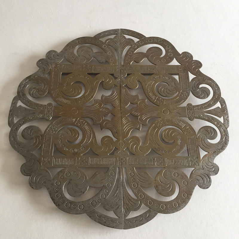 1920年代 ル・ボン・マルシェ 鍋敷き  真鍮