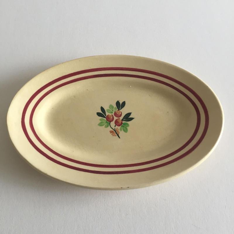 1940年代  ジアン ラヴィエ ストライプ+小花柄