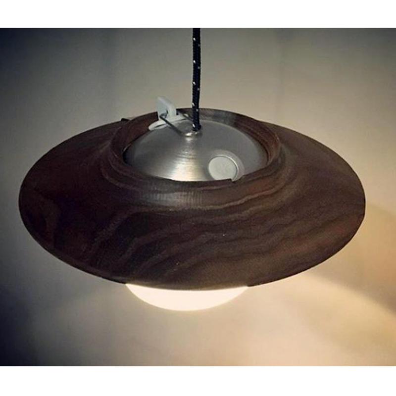 Urban Blind Design - Wood lantern shade - ウッドランタンシェード 【ほおずき専用】