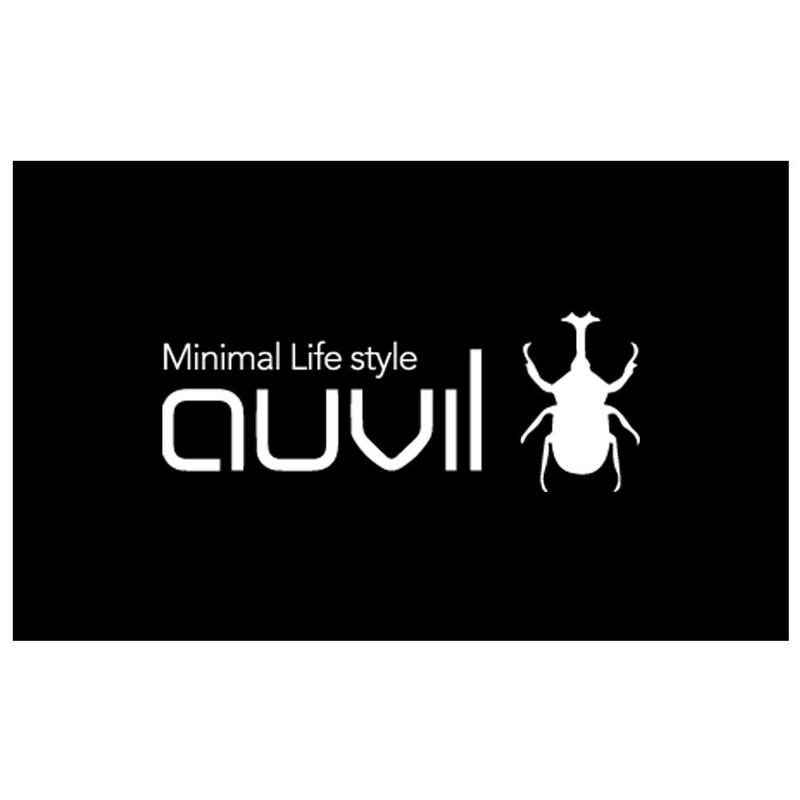 auvil(オーヴィル) カッティングロゴステッカー ホワイト