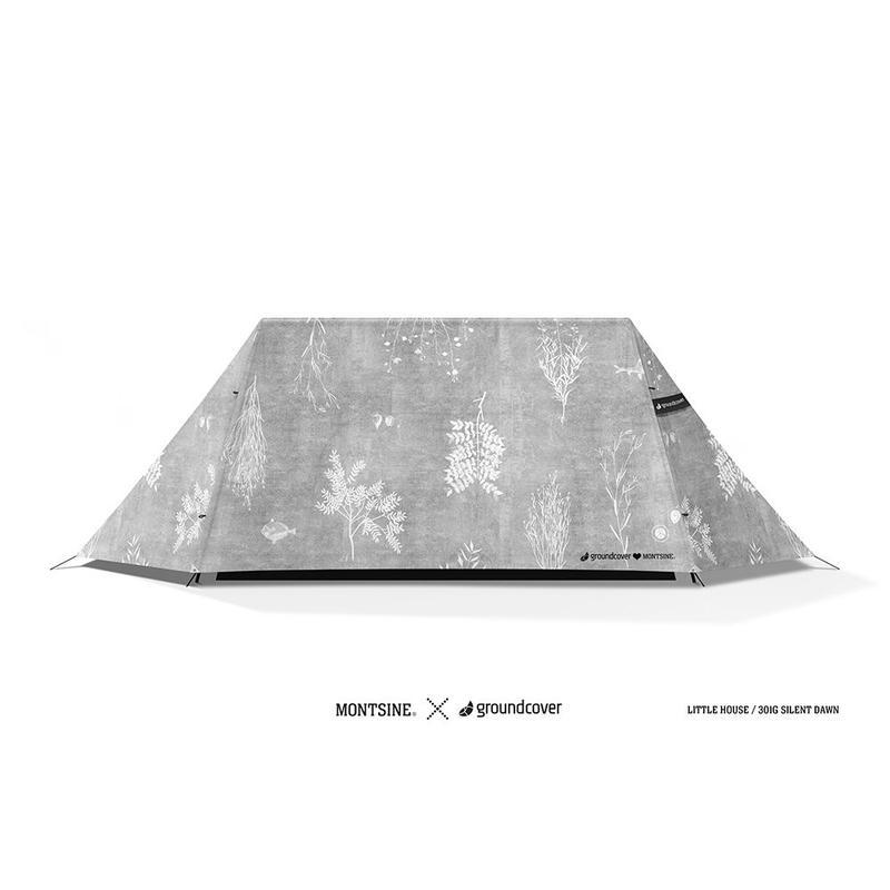 groundcover×MONTSINE リトルハウス - テント(T/C)