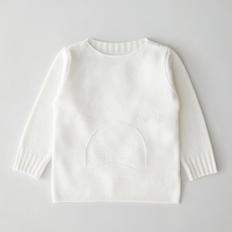 """friendly knit"" animal sweater polar bear"