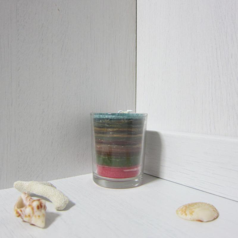 グラスキャンドル パーム ミニ1