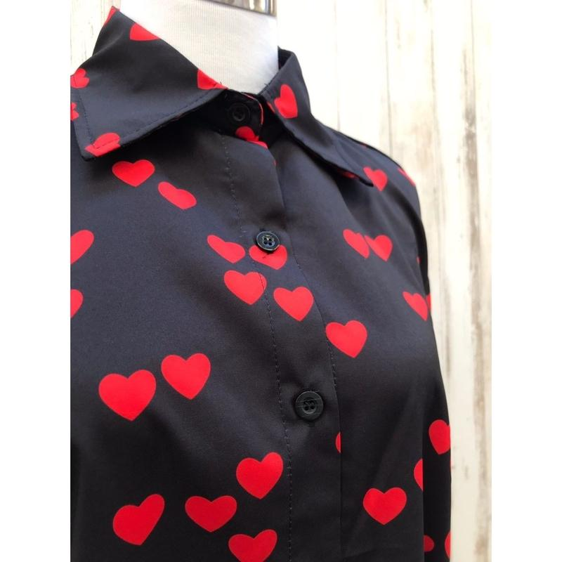 ハートいっぱいシャツ.578