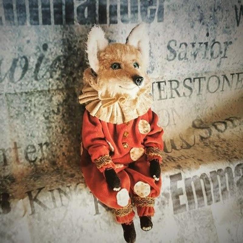 お人形タイプ Clown Fox