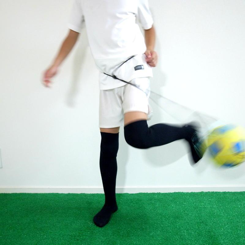 【リフティングが上手くなるボールネット】カピタンオリジナル  パラコード ボールネット コンビ(ブラック×ターコイズブルー)