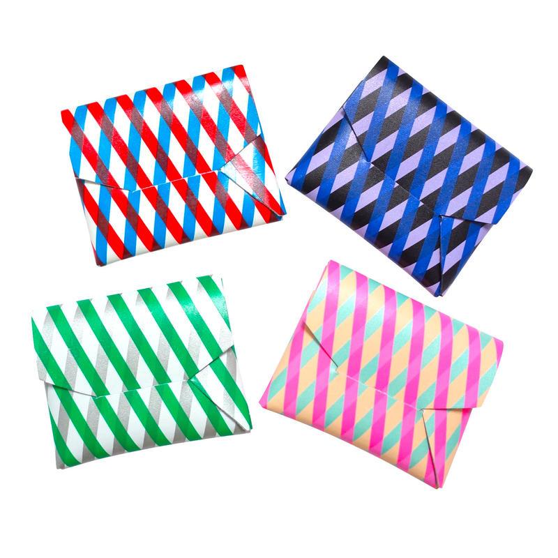 ポケットカードコインケース   -クロス- 【Pocket Card Coin Case -Cross-】