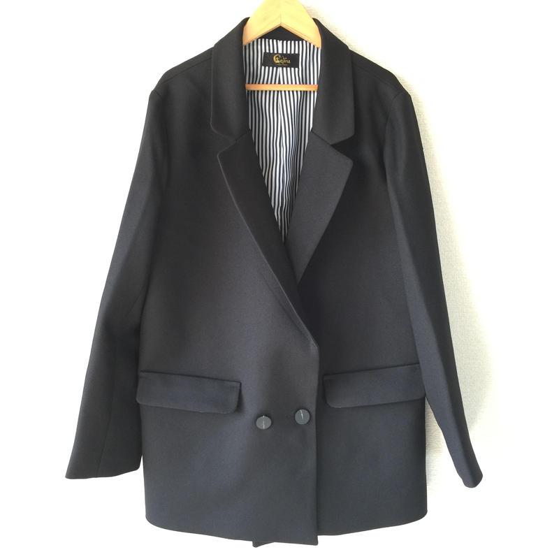 ✱︎ BLACK ゆるシルエットジャケット ✱︎
