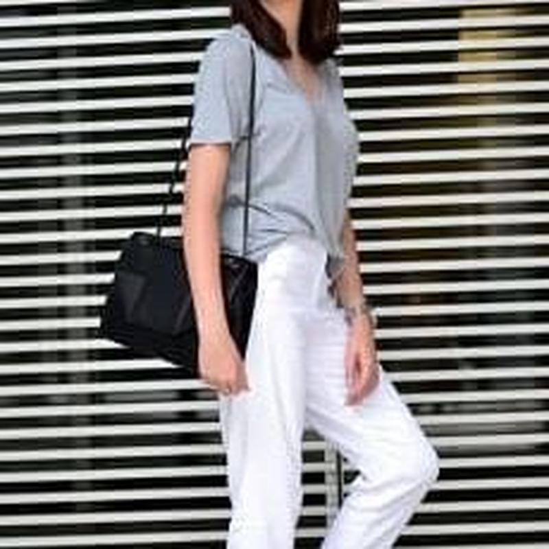 ✱︎ GRAY シンプルTシャツ ✱︎