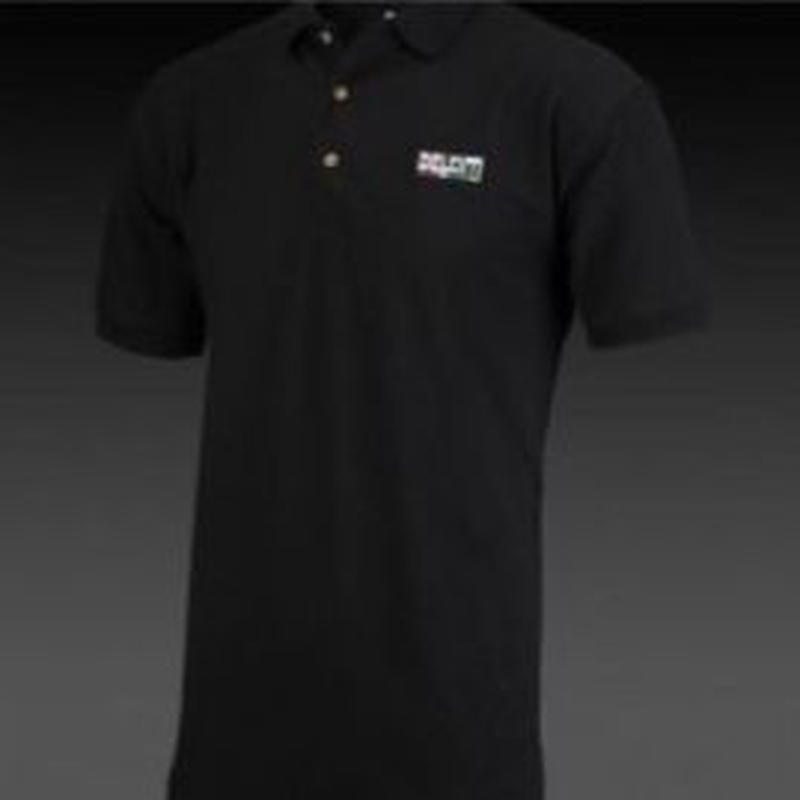 DELKIM ポロシャツ  ブラック (L)