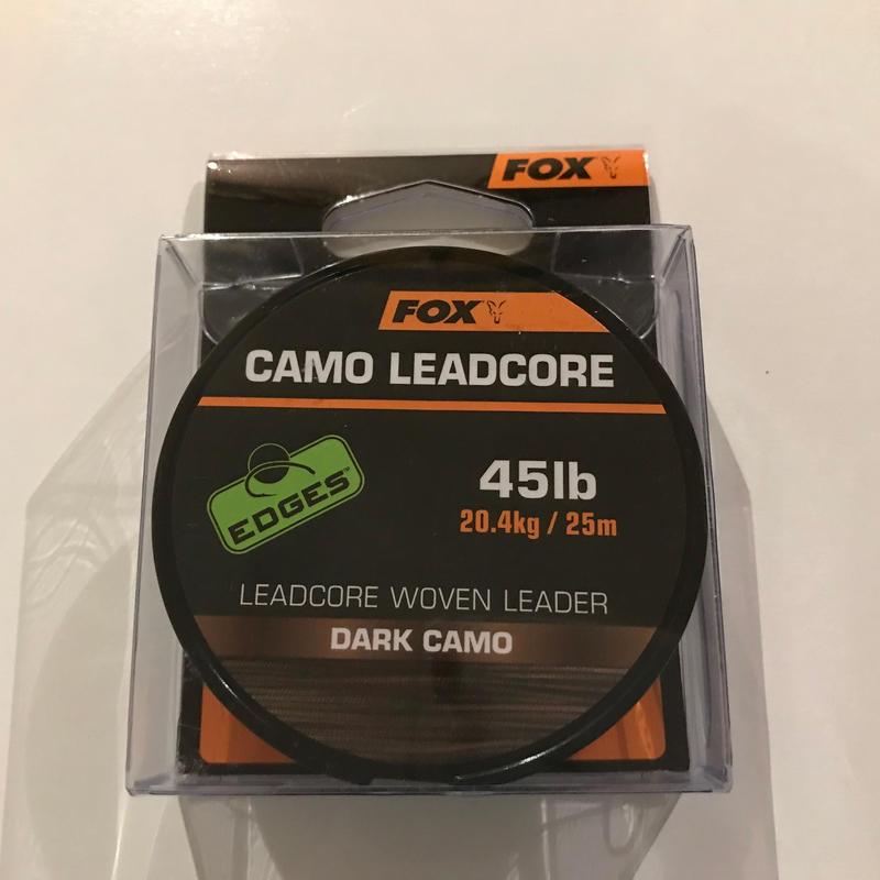 FOX  カモ レッドコア(ダークカモ) 45lb  25m