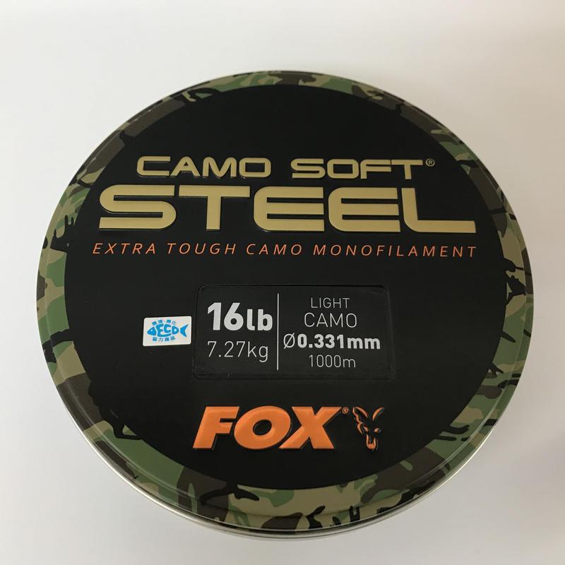 FOX カモ ソフトスティール(ライトカモ)16lb