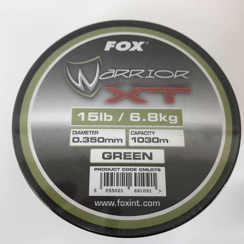 FOX ウォリアーXT (グリーン)15lb