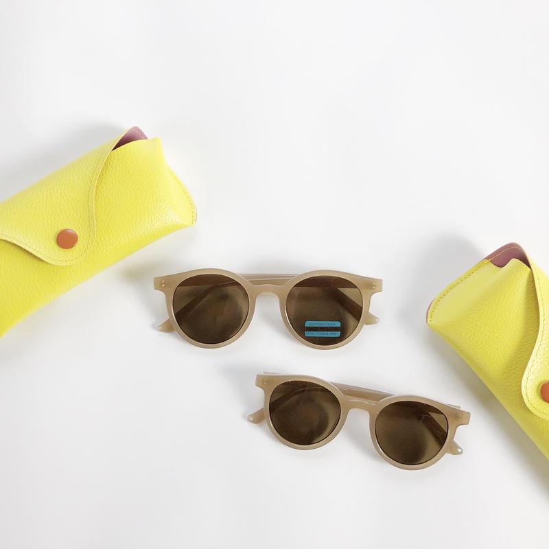 【ladies】pair simple sunglasses(メガネケース無し)
