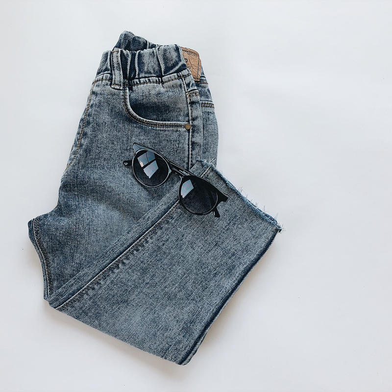 kids★chemical denim pants