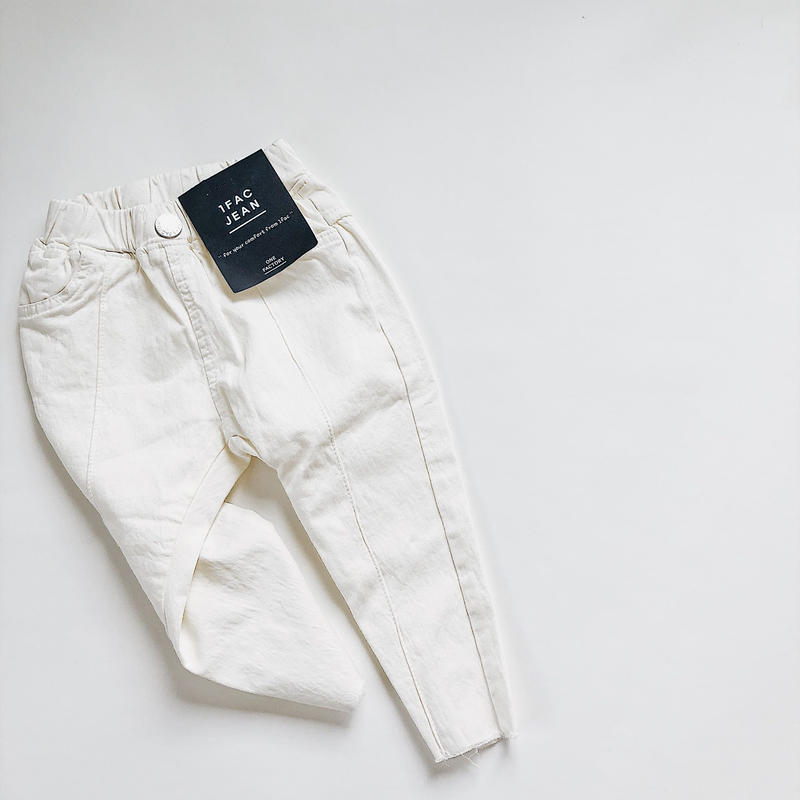 kids★ White denim pants