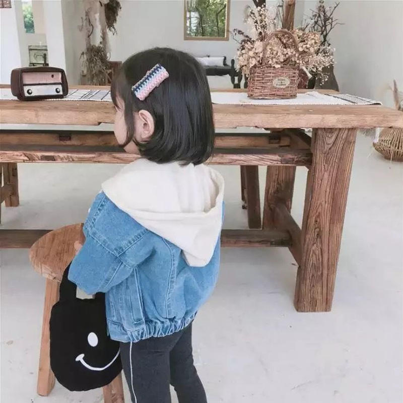 kids★hood denim jacket