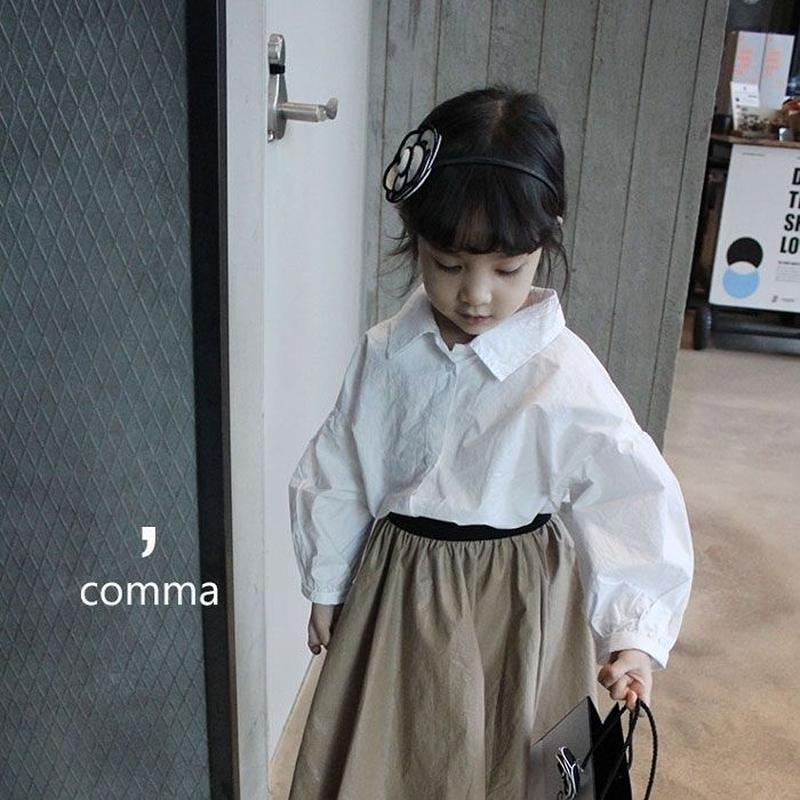 kids★volume sleeve shirt