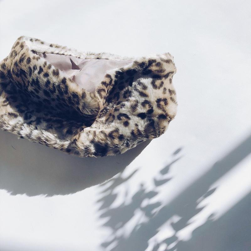 Baby&kids★leopard fur snood
