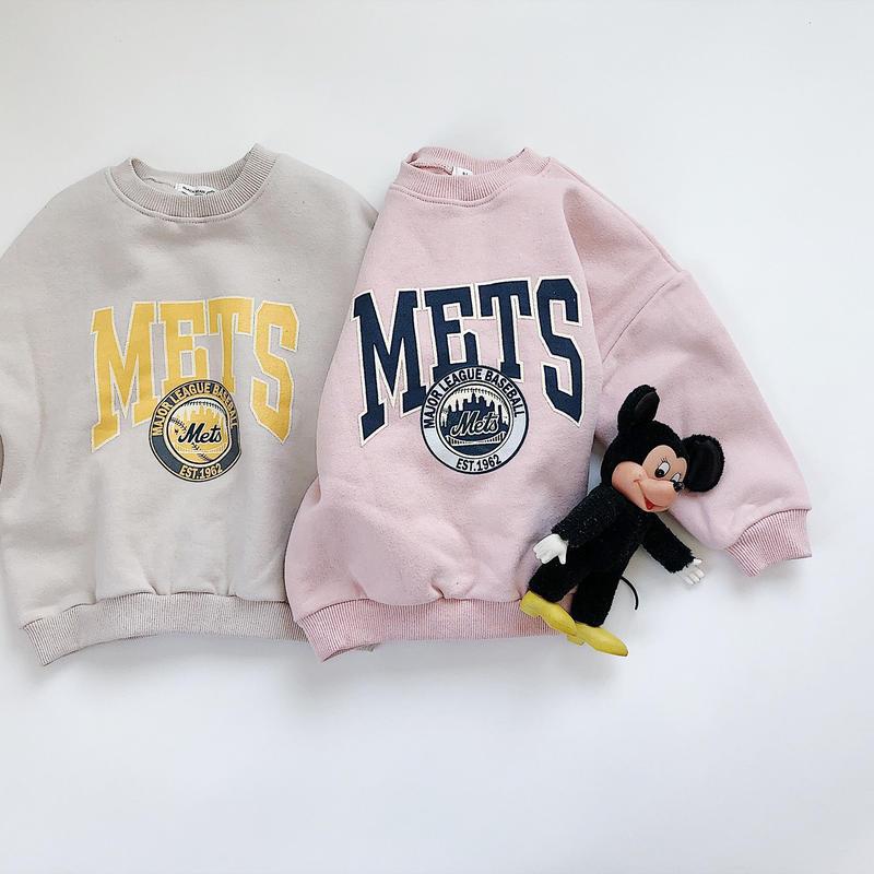 kids★Mets sweat pullover