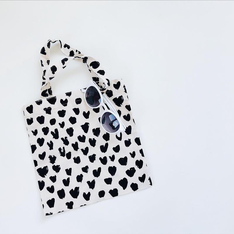 kids★Dalmatian Heart tote bag