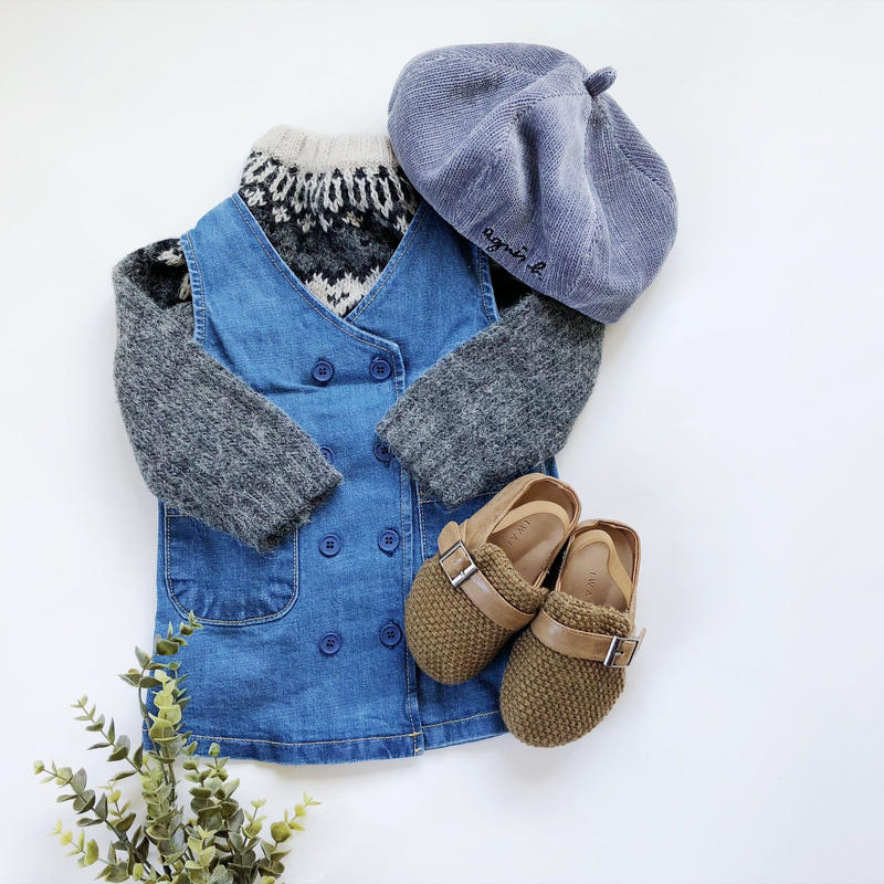 kids★denim  vintage風 one-piece