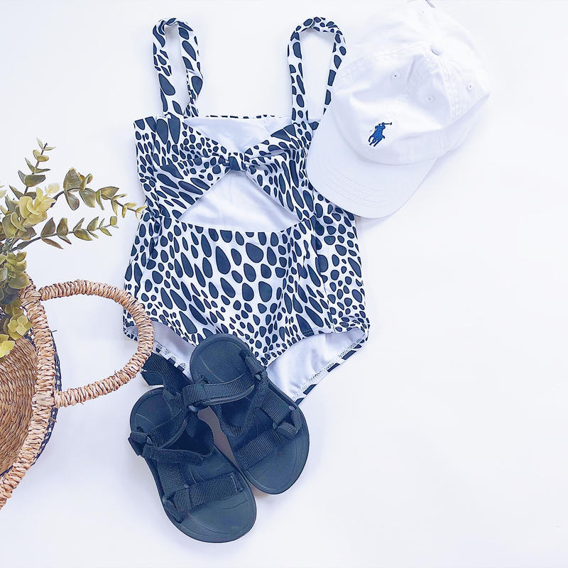【予約商品】kids★Dalmatian swim wear