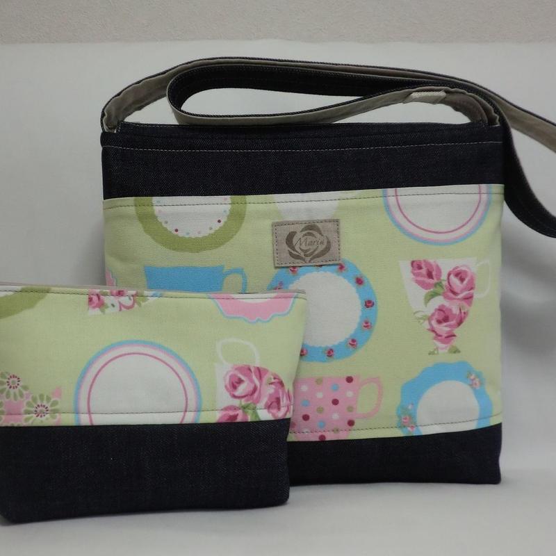 布のショルダーバッグ&ポーチ 型番SB26 送料サービス