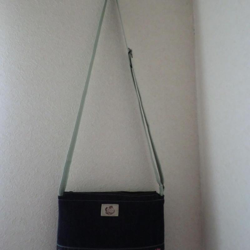 布のショルダーバッグ 型番SB58  送料サービス