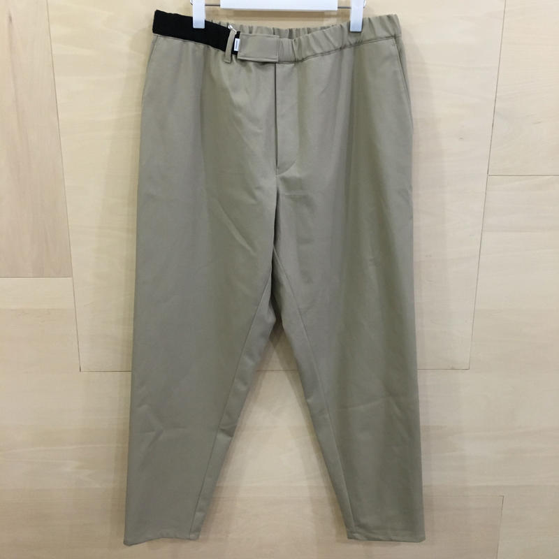 Graphpaper / GM192 40533 / COTTON TWILL Cook Pants (BEIGE)